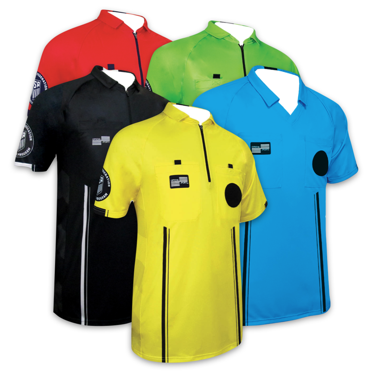Next referees will need to wear black referee shorts or black shorts with  the US Soccer Referee logo with black socks with OSI 2 stripes. 0b13207a9